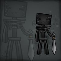 Minecraft Mob Spotlight: Wither Skeleton by TruCorefire