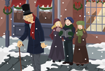 Christmas Carol by koshami