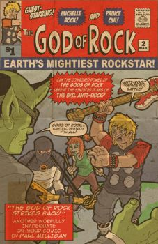 God of Rock Strikes Back Cover by superleezard