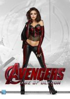 Avengers - Age of Ultron: Scarlet Witch by SilentArmageddon