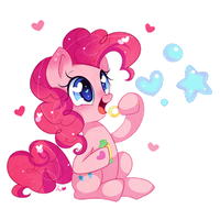 Pinkie Bubbles by Ipun