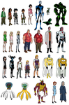 Ben 10 Other characters by BrendanBass