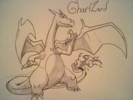 charizard the epic one by Dragontamer333