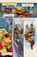 UltraVixen Mega-Con preview book Page 5 by MaelstromMediaComics