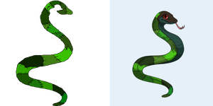Ovipets Snake tattoo *Free Female* by horse-power