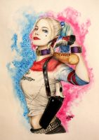 Harley Quinn by Revy-chan94