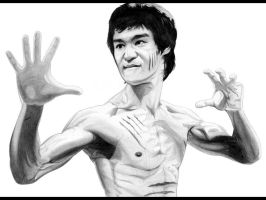 Bruce Lee by -Wedge- by Wedgewenis