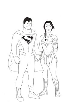 Man of Steel, Amazon Princess - redesigns by RenMalone