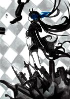 Black Rock Shooter by KuroNightcliff