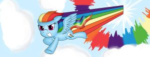 Sonic Rainboom by crhonox