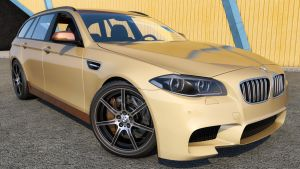 2015 BMW M5 F11 Touring by SamCurry