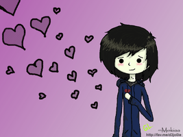 Hearts Around Me By:Mokiaaaa: by Floating-BlowFish