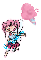 Baited: Cotton Candy Fairy by vi-puppetcino