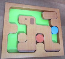 Dog Puzzle by aim11