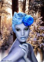 Ildys - elven spirit of the Winter Forest by FlorindaZanetti