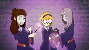 Little Witch Academia by snekcid