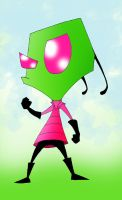 Invader Zim... by kilroyart