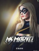 Ms.Marvel Movie Poster Design by NO-LooK-PaSS