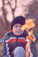one with a fire by DR13agoslav