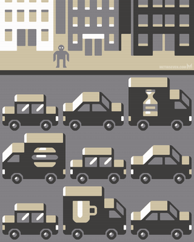 Urban chaos GIF animation by m7