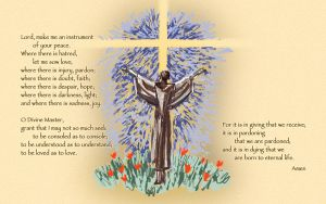 St. Francis Prayer by touch-the-flame