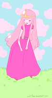 Princess Bubblegum by owl-face