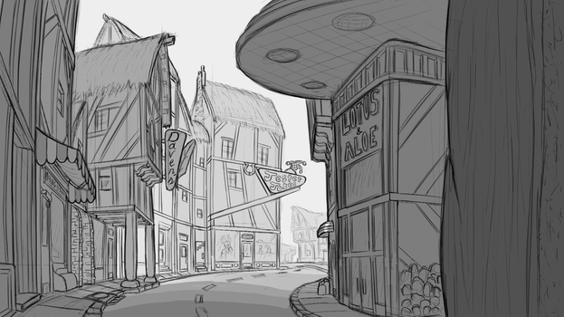 AoE: High Street Shopping Concept by TheOvermareStudios