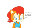 Sally and Sonic are just friends by MarcosPower1996