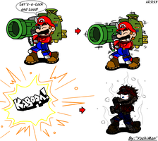 Super Tech Advanced Mario by YoshiMan1118