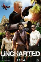 Uncharted movie poster by DComp