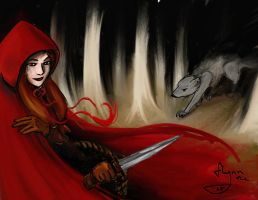 Red Riding Hood by Flynn-the-cat
