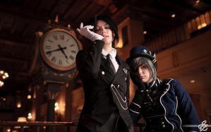 Black Butler - 1 by alucardleashed