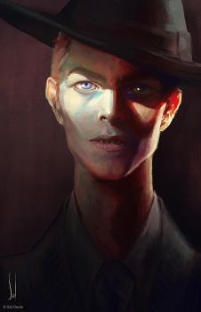 The Man Who Fell to Earth by SolDevia