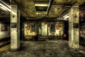 Chambers Street Subway VIII by marcialbollinger