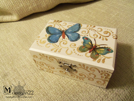 Butterfly box by Morrigan22