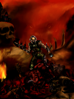 Brutal Doom by cthulhuweberiano