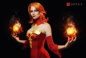 Lina - Dota 2 cosplay by LuckyStrike-cosplay