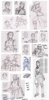 A Panoply of Pencil Pics by XenonRay