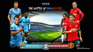 MANCHESTER CITY - MANCHESTER UNITED by jafarjeef
