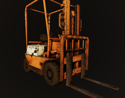 Forklift render in UDK by bosman697