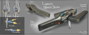 Lupain Heavy Striker by TX-aster