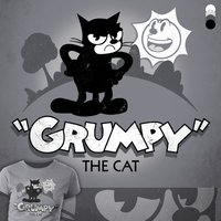 Grumpy The Cat by jonhavens