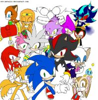 Sonic Universe by matalix