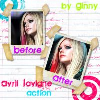 Avril Lavigne Action by ginnycullen