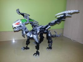 Brain Attack MOC: Dragstracton by drago-flame