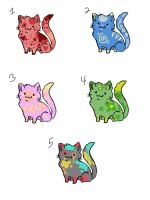 3 pt cat adoptables (open) by nabox