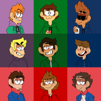 Eddsworld icons by faecarrion