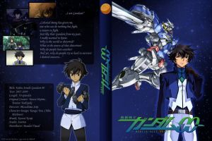 Gundam 00 DVD Cover-Setsuna by ViraMors