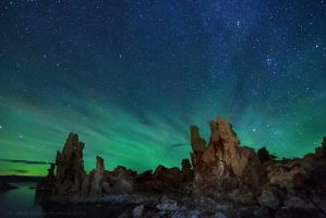 Air Glow over Mono Lake by MattGranzPhotography