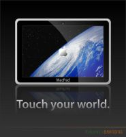 MacPad Concept - View 1 by Maverick18x